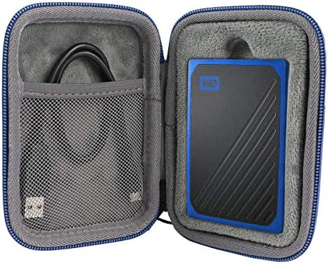 co2crea Hard Travel Case for WD My Passport Go Cobalt SSD 500G 1TB Portable External Storage product image