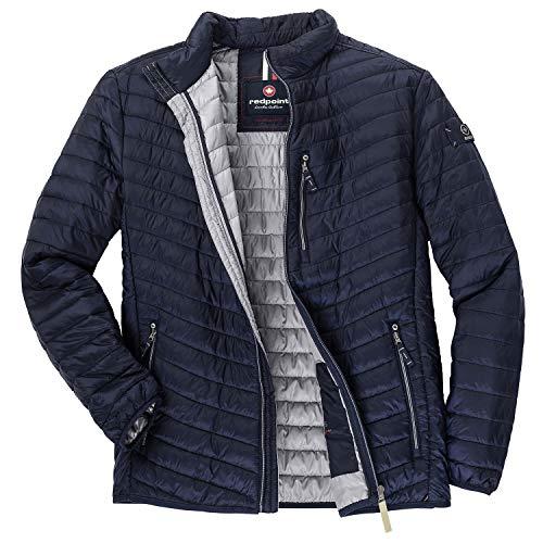 Redpoint Übergrößen Herren Leichte Stepp-Outdoor Jacke blau_802 8XL