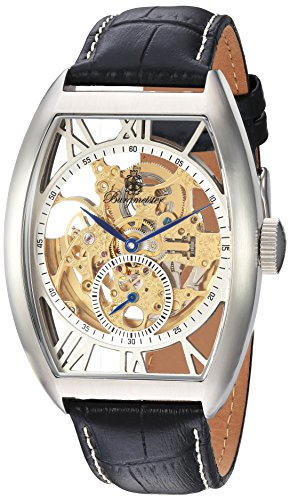 Burgmeister Herren Analog Automatik Uhr mit Leder Armband BM228-112