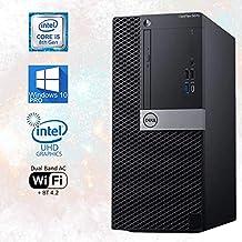 $1029 » Dell OptiPlex 5070 Tower Desktop PC - i5-8500 Upto 4.1 GHz, 32GB RAM 2TB M.2 NVMe SSD, NVIDIA GeForce GT 730 2GB Graphics, DisplayPort, HDMI, DVD, AC Wi-Fi, Bluetooth, USB Type-C – Windows 10 Pro