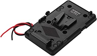Honeytecs Back Pack Plate Adapter with D-tap Output for Sony V-Mount V-Lock Battery External for DSLR Camera Camcorder Vid...