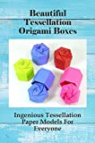 Beautiful Tessellation Origami Boxes: Ingenious Tessellation Paper Models For Everyone: Origami Box Trophy Instructions (English Edition)
