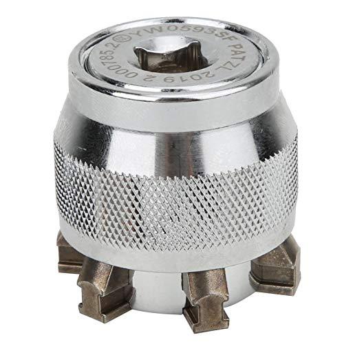 LANTRO JS - Llave de enchufe universal, enchufe mágico ajustable para tuercas de 10~19 mm, 3/8~3/4 pulgadas, herramientas de reparación de bricolaje, regalos para hombres