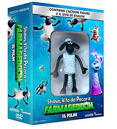 Shaun, Vita Da Pecora: Farmageddon, Il Film (DVD + Shaun Action Figure) [Esclusiva Amazon]
