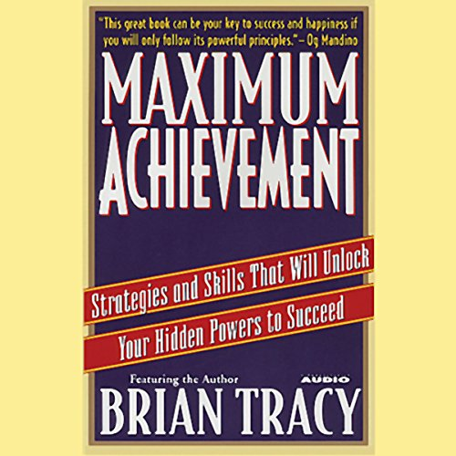 Maximum Achievement audiobook cover art