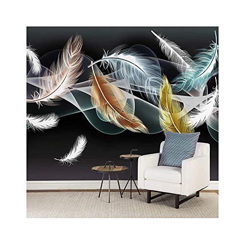 QING Foto Papel Tapiz Mural Sala TV sofá Fondo Pared decoración Papel Tapiz 220cmx140cm