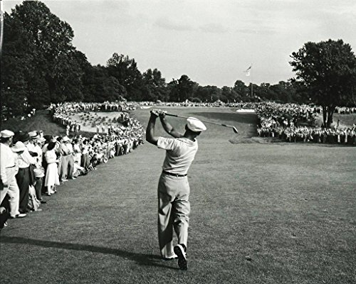 Golf Collectibles Ben Hogan Hitting a 1 Iron Off The tee During The 1950 US Open - 8