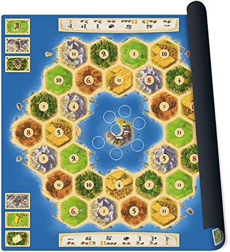 999 Games spel Catan playmat Atoll
