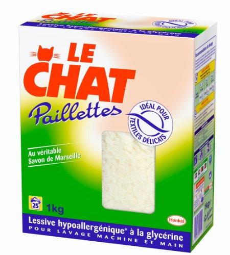 Le Chat Paillette Savon de Ménage - Pack 1 kg - 25 Lavages
