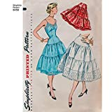 Simplicity US8456R5 1950's Fashion Women's Vintage Slip and Petticoat Sewing Patterns, Sizes 14-22