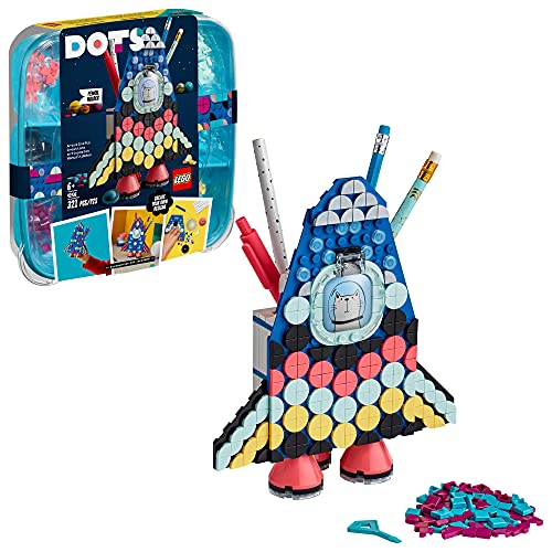 LEGO DOTS Pencil Holder 41936 DIY Craft Decoration Kit; Makes a Great Creative Gift for Kids; New 2021 (321 Pieces)