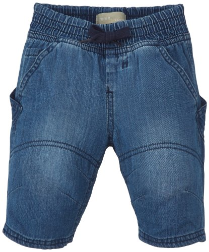 Name It BANIELS Mini DNM Baggy Knickers 214 Jeans, Bleu (Medium Blue Denim), FR: 24 Mois (Taille Fabricant: 86) Bébé garçon