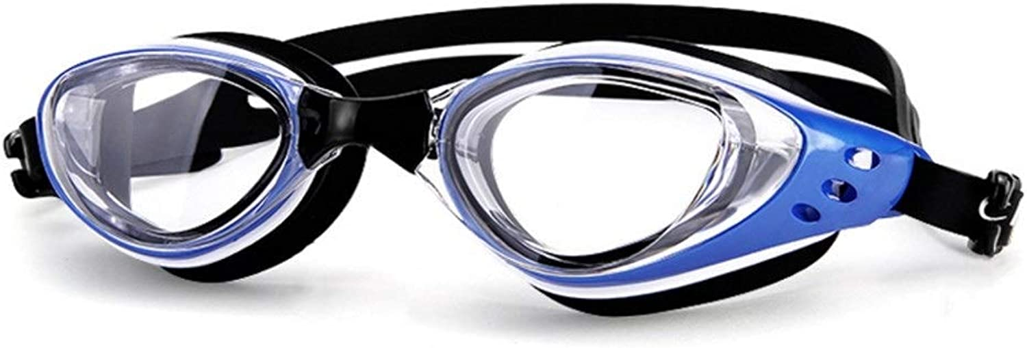 Anas Premium Swimming Goggles No Leak, Clear AntiFog Lenses, Comfortable Nose Piece, Soft Durable Rubber Silicone for Adult Men Women