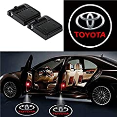√ EASY & QUICK INSTALLATION,These Toyota door light projector can be easily installed in minutes with 3M tapes included, NO DRILLING, NO WIRING needed. No Damage to your car at all. √ UNIVERSAL FITS, The Toyota door lights logo Can be installed on an...