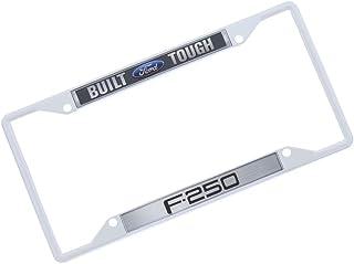 Built Ford Tough / F 250 Kennzeichenrahmen