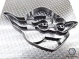 Kekstempel/Ausstechform STAR WARS aus biolog. PLA ca.8cm (Yoda)
