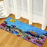 OPLJ Hogar Sala de Estar Dormitorio 3D impresión mar Playa...
