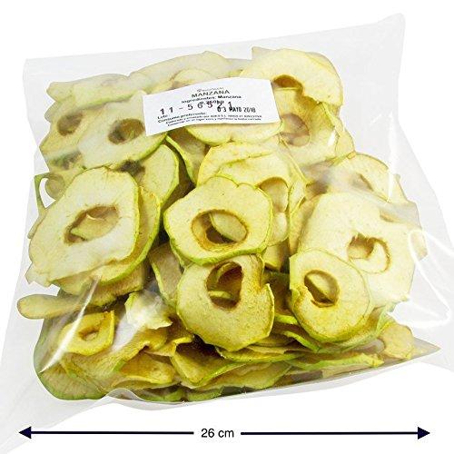Manzana deshidratada natural bolsa familiar (2x250gr)