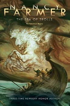 Paperback The Sea of Trolls Book