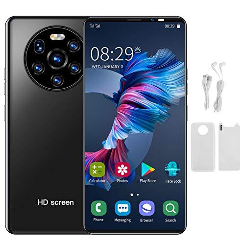 Mate40 PRO Smartphone Offerta del Giorno 3G, 1GB RAM + 8GB Rom, 2MP + 5MP 2300mAh Batteria Cellulari Offerte, 128GB Espandibili Cellulare, Dual SIM Economici Telefoni Mobile (Nero)