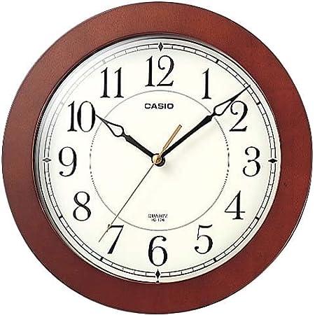 CASIO (カシオ) 掛け時計 アナログ IQ-126-5JF アナログタイプ