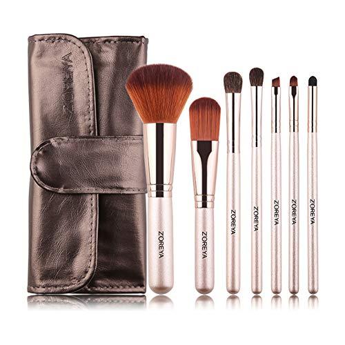 WWLZ Make-up Borstels Natuurlijke Paard Haar Oogschaduw Poeder Concealer Cosmetische Borstel Make-up Borstel Set Tool