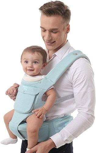 Relddd Porte-bébé Multifonctionnelle Quatre Saisons bébé Sangle Taille Tabouret 7,5 CM Entrejambe étroite mère et Enfant Fournitures