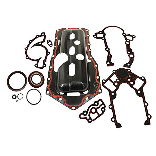DNJ LGS3143 Lower Gasket Set/For 1995-2003/ Buick, Chevrolet, Oldsmobile, Pontiac/ 88, 98, Bonneville, Camaro, Firebird, Grand Prix, Impala, Intrigue Monte Carlo, Park Avenue/ 3.8L V6 OHV