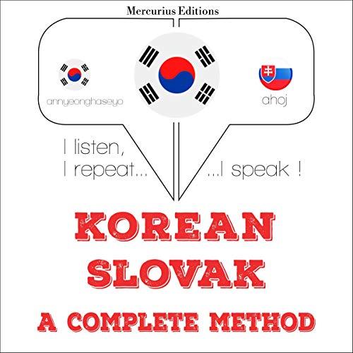 Korean – Slovak. A complete method cover art