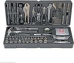 130 pc Tool Set & Case Auto Home Repair Kit SAE Metric