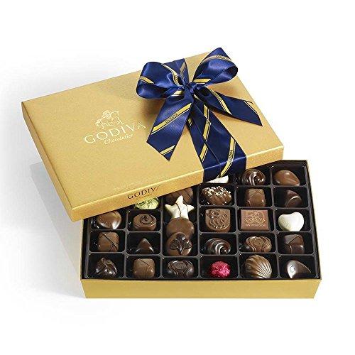 Godiva Chocolatier Gold Gift Box