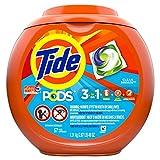 Tide Pods Laundry Detergent, Ocean Mist, 57 Pacs Capsules, 46 Ounce
