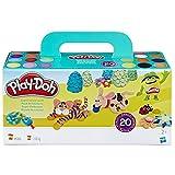 Play-Doh- Pack 20 Botes (Hasbro A7924EU8)