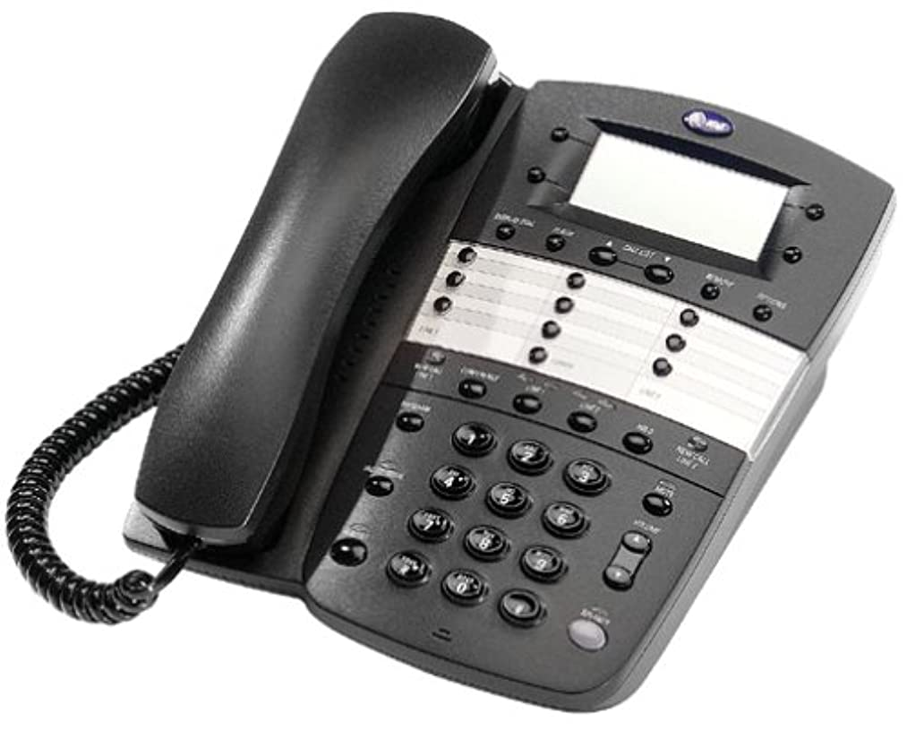 AT&T 972 2-Line Speakerphone with Caller ID (Black)