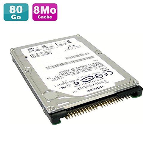 Hitachi Disco Duro PC Portátil 80GB IDE 2.55K160hts541680j9at005400rpm 8MB
