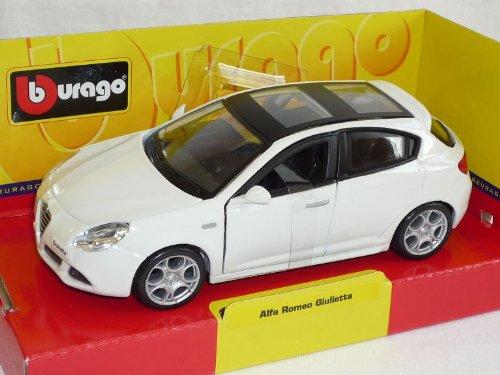 mächtig der welt Bburago Alfa Romeo Giulietta 2010 Typ 9401/32 Automodell 5 Weiße Türen Bburago Automodell