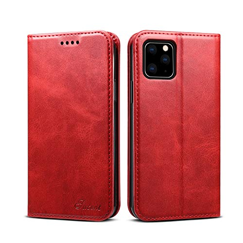 iPhone 11 Pro Max 6.5inch Wallet case FLYERI Leather Case Flip Folio Book Case Wallet Cover with Kickstand Feature Card Slots & ID Holder and Magnetic Closure for iPhone 11 Pro Max 6.5inch (4)