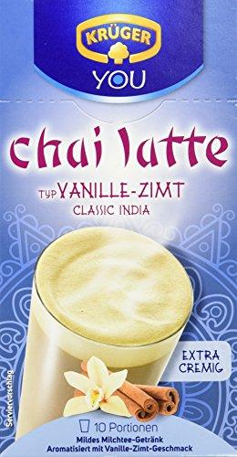 Krüger Chai Latte Vanille-Zimt Milchtee-Getränk, 8er Pack (8 x 250 g)