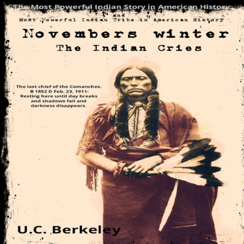 Novembers Winter, The Indian Cries audiobook cover art