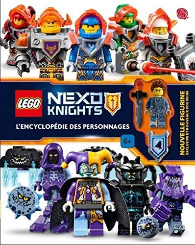 Lego Nexo Knights : L encyclopédie des personnages - Avec une nouvelle figurine exclusive