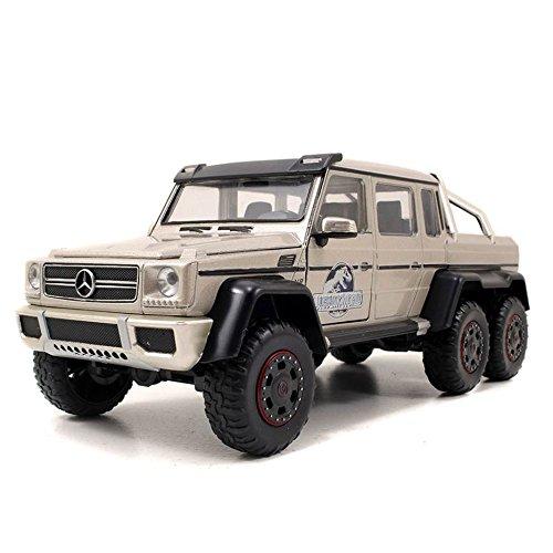 Mercedes Benz 6 x 6 1/24 Jada Marrom