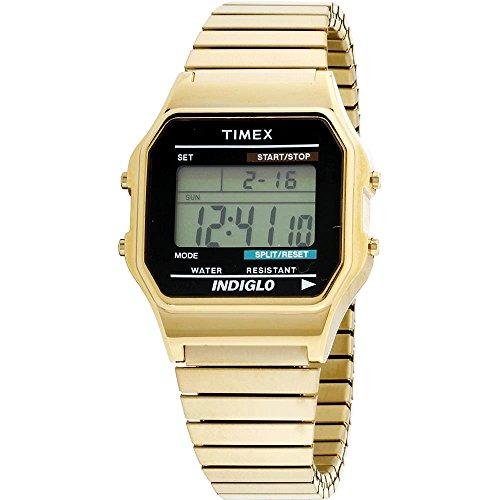Timex Classic Herren-Armbanduhr 34mm Armband Edelstahl Gold Quarz T78677