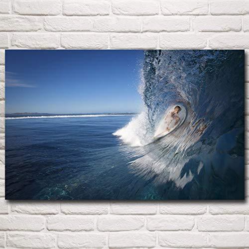 UHvEZ Regalo de Rompecabezas 1000pcs_Children Surf de Deportes Extremos El Juego Educativo del Rompecabezas ensambló el Regalo Adulto de los niños del Rompecabezas de los Juguetes 50x75cm
