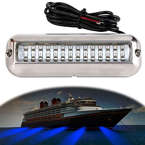 Fansport Luz de LED de Barra de luz de Barco a Prueba de Agua 42-LED a Prueba de Agua Luz LED subacuática