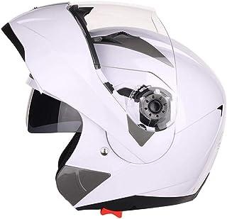 StageOnline Casco de Motocross Todoterreno - Casco de protección Modular JIEKAI/Cara Abierta/Alta