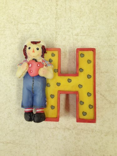 Raggedy Ann & Andy Collectible Letter H -  Enesco Group, Inc