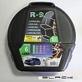 Black IT Catene da Neve R-9 per Fiat 500, Panda, Grande Punto, Mito