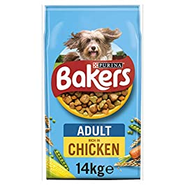 Bakers Adult Dog Food Chicken and Veg, 14kg