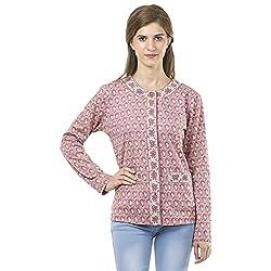 Reevolution Womens Pink Cotton Cardigan
