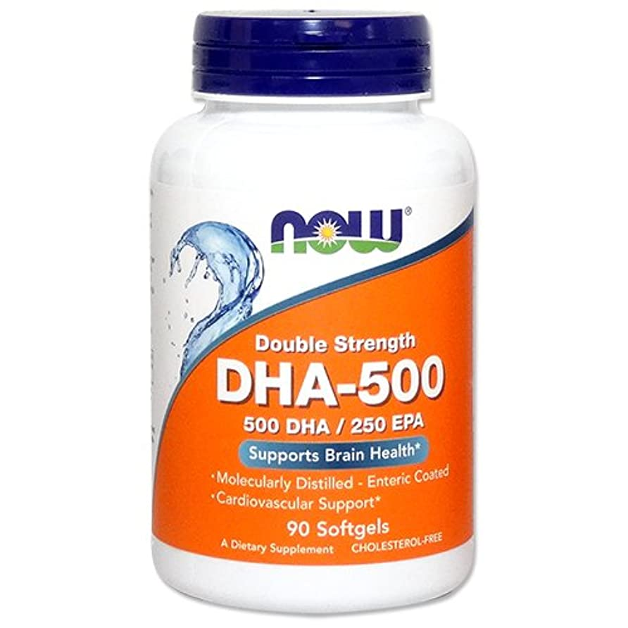 ビリー適用済みジェム[海外直送品] ナウフーズ   高含有DHA-500 90粒